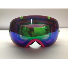 break pink fluo inserti green fluo lente mirror green